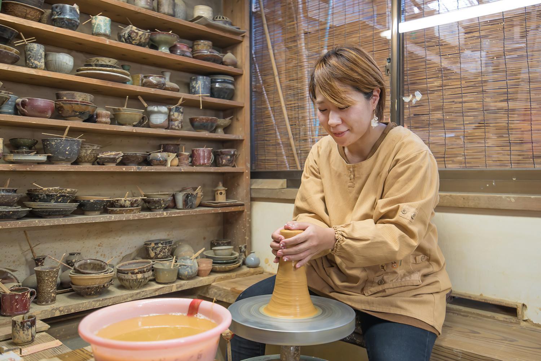 小石原焼窯元めぐりと陶芸体験