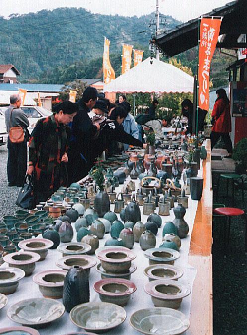 一の瀬焼陶器祭り
