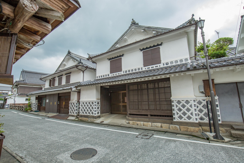 「筑後吉井」白壁の町並み