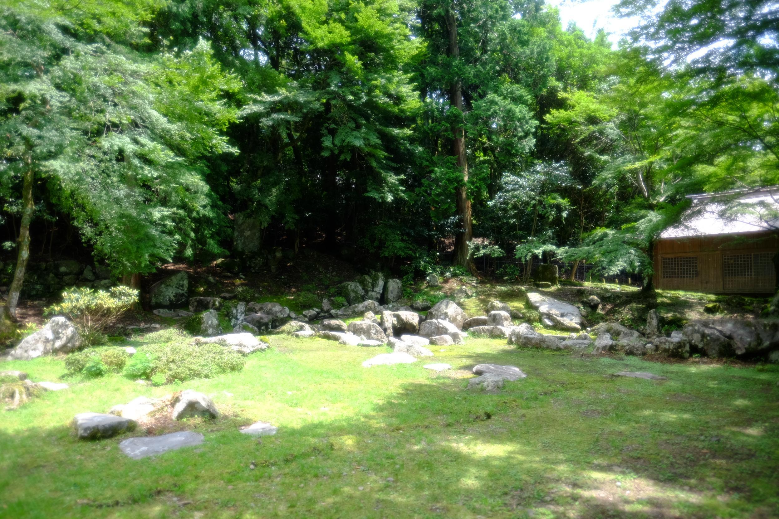 旧亀石坊庭園(雪舟庭)
